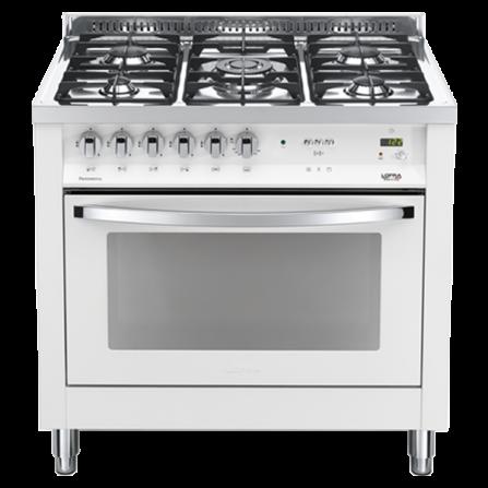Lofra Cucina Elettrica PBPG96MFT/C Bianco Perla da 90cm