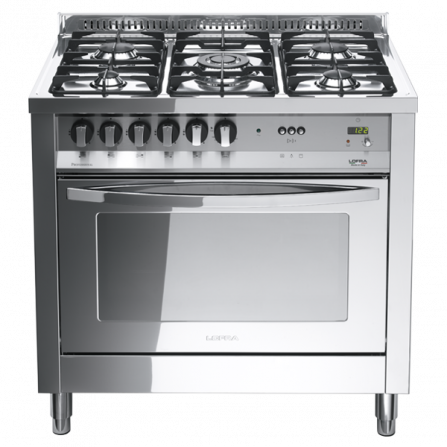 Lofra Cucina Elettrica PLG96MFT/C Acciaio Inox da 90cm