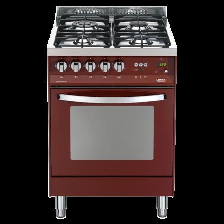 Lofra Cucina Elettrica PR66MFT/C Rosso Burgundy da 60cm