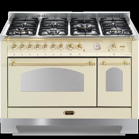 Lofra Cucina Elettrica RBID126MFT+E/2AEO Avorio da 120cm