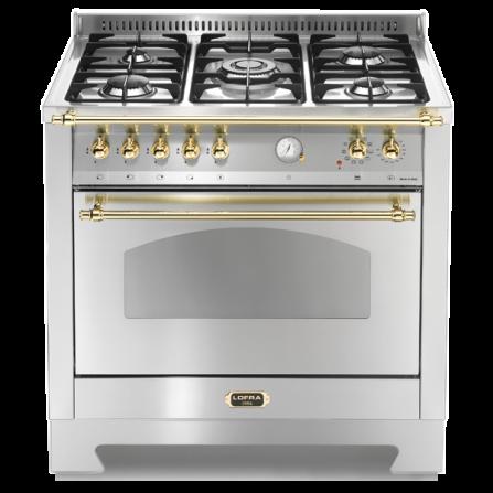 Lofra Cucina Elettrica RSG96MFT/CI Acciaio Inox da 90cm