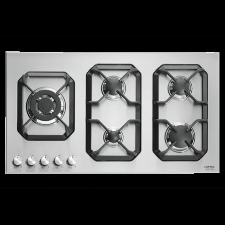 Lofra Piano Cottura a Gas HLS9B0 Acciaio Inox da 90cm  - Pronta Consegna