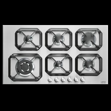 Lofra Piano Cottura a Gas HLS9S0 Acciaio Inox da 90cm