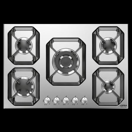 Lofra Piano Cottura a Gas HLS7A0 Acciaio Inox da 70cm