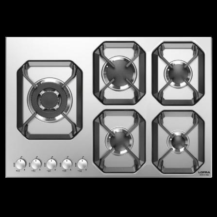 Lofra Piano Cottura a Gas HLS7B0 Acciaio Inox da 70cm