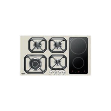 Lofra Piano Cottura Misto HLBI9G2I Avorio da 90cm